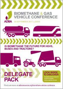 Biomethane Gas Vehicle Delegate Brochure