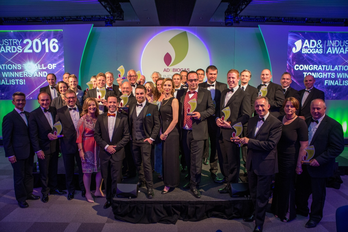 AD & Biogas Industry Awards Shortlist Announced
