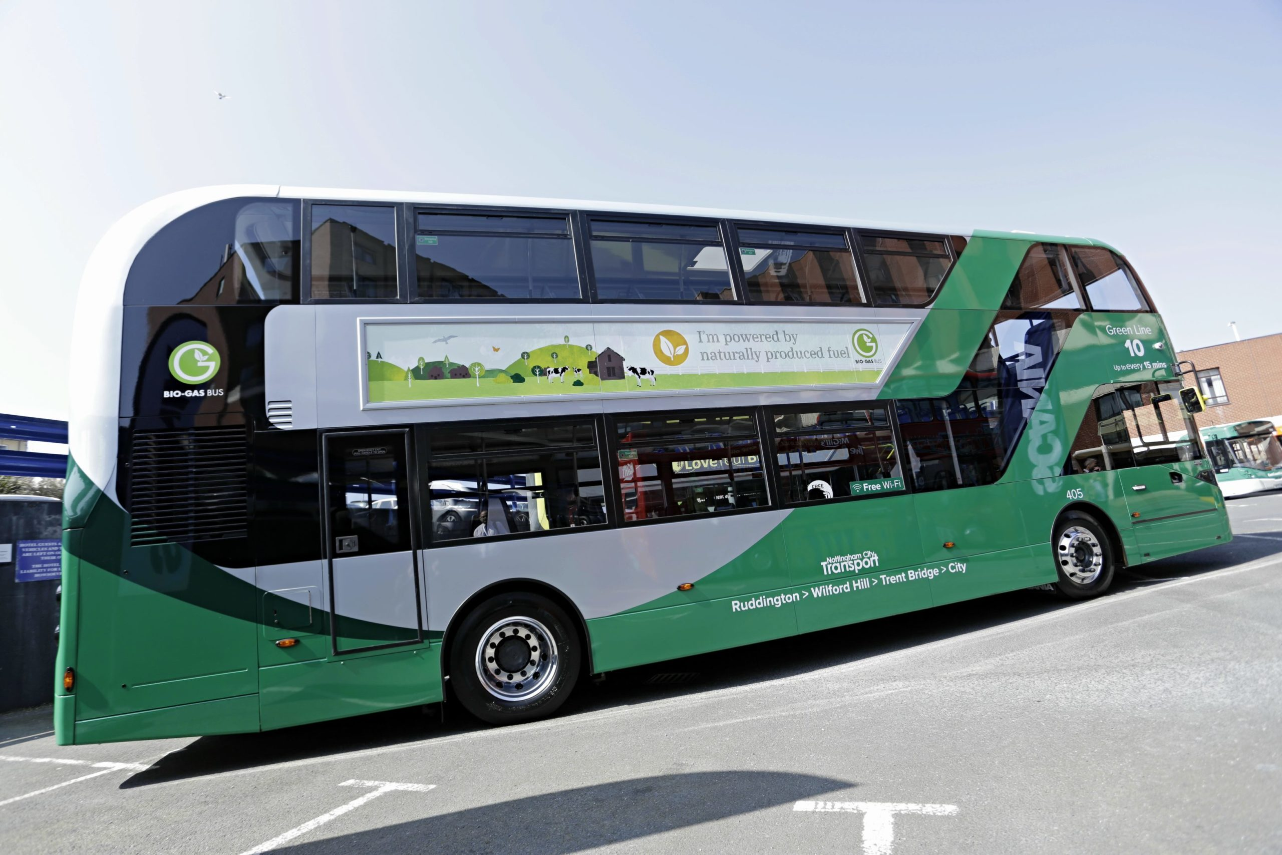 New Nottingham Buses Show Need For Greater Biomethane Support