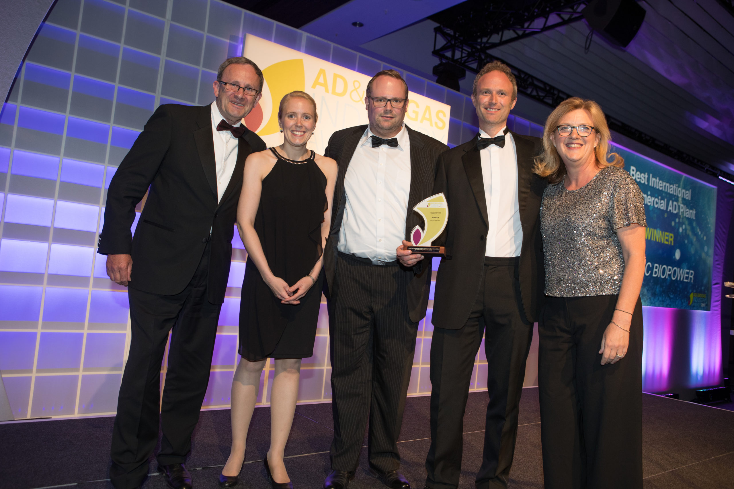 MEMBER'S PRESS RELEASE: WELTEC BIOPOWER Wins Two AD & Biogas Industry Awards
