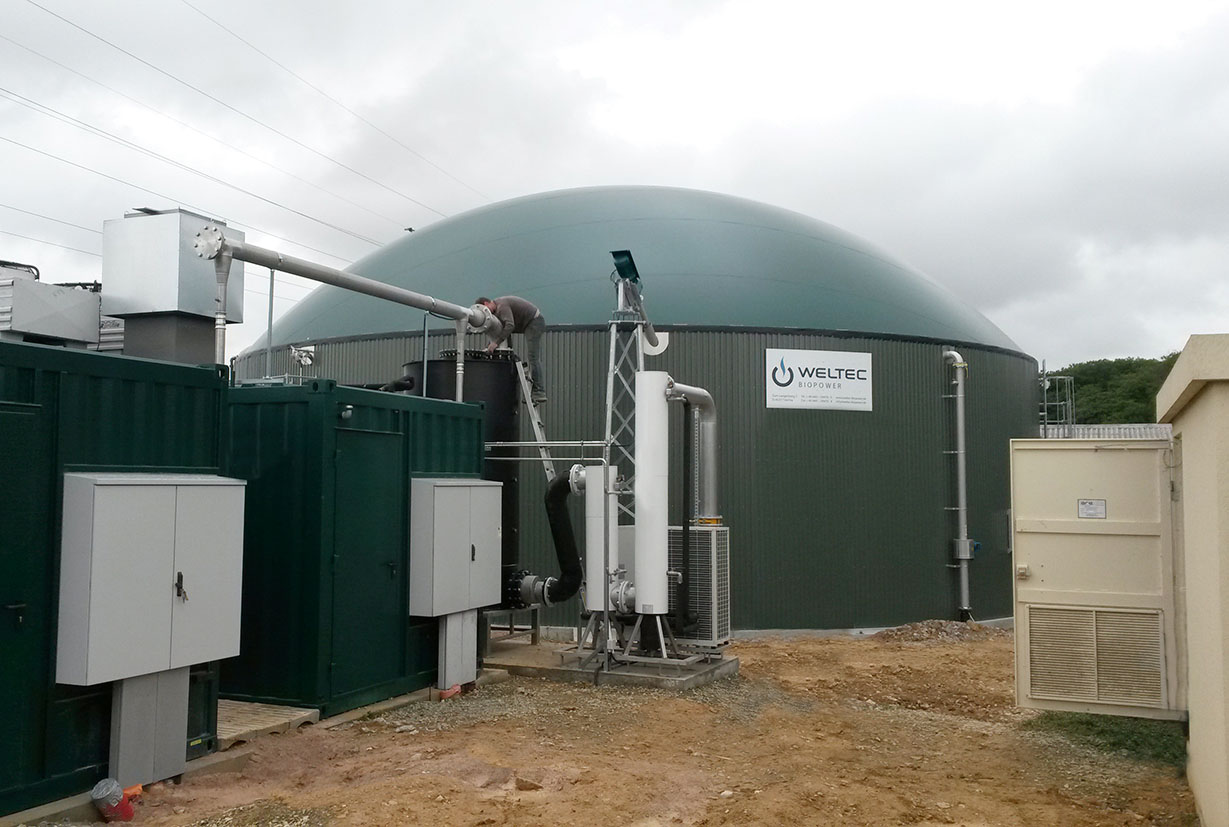 MEMBER'S PRESS RELEASE: WELTEC BIOPOWER Extends AD Plant In France