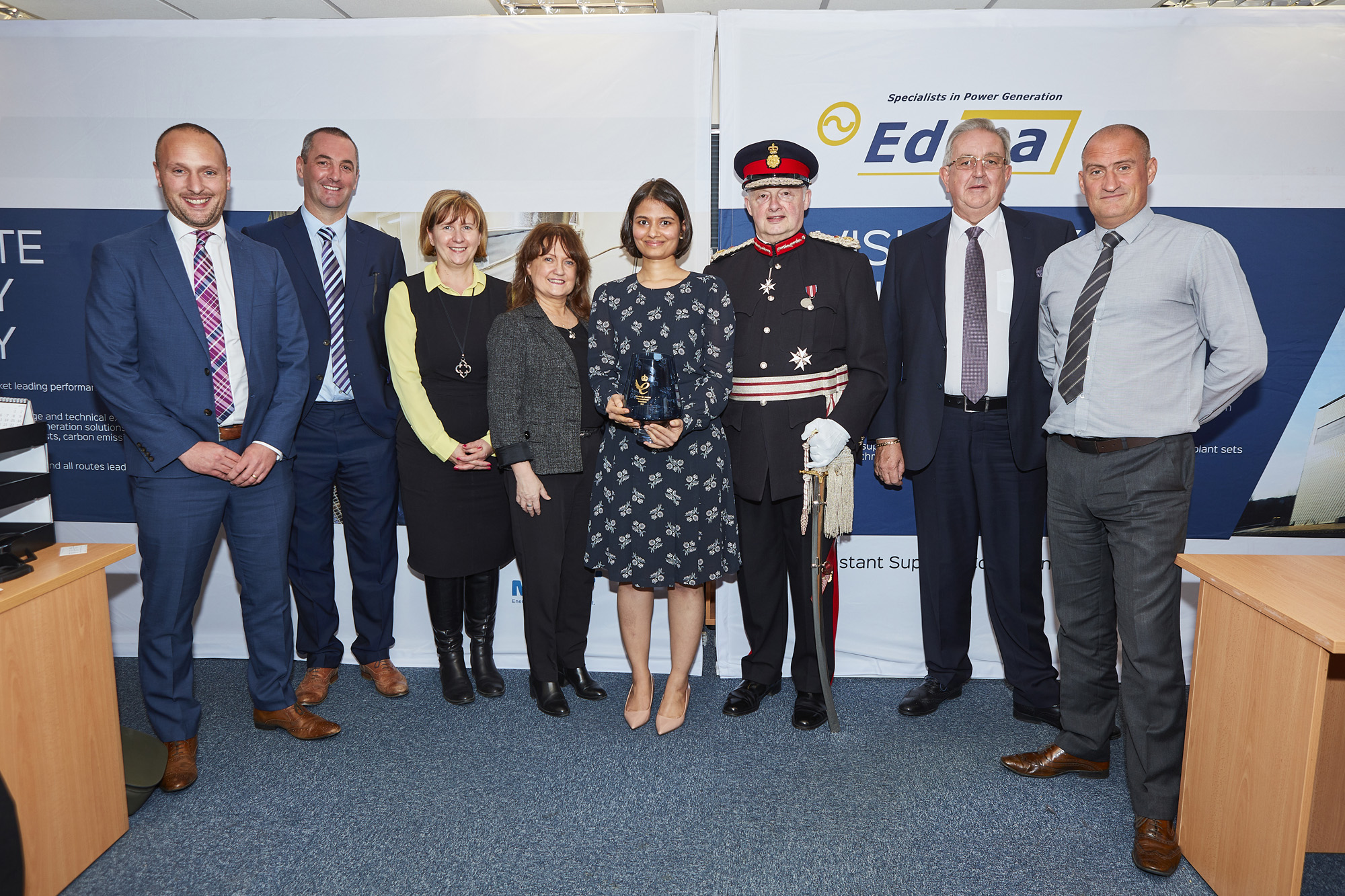 MEMBER'S PRESS RELEASE: People Power Brings Home Edina's Second Queen's Awards For Enterprise
