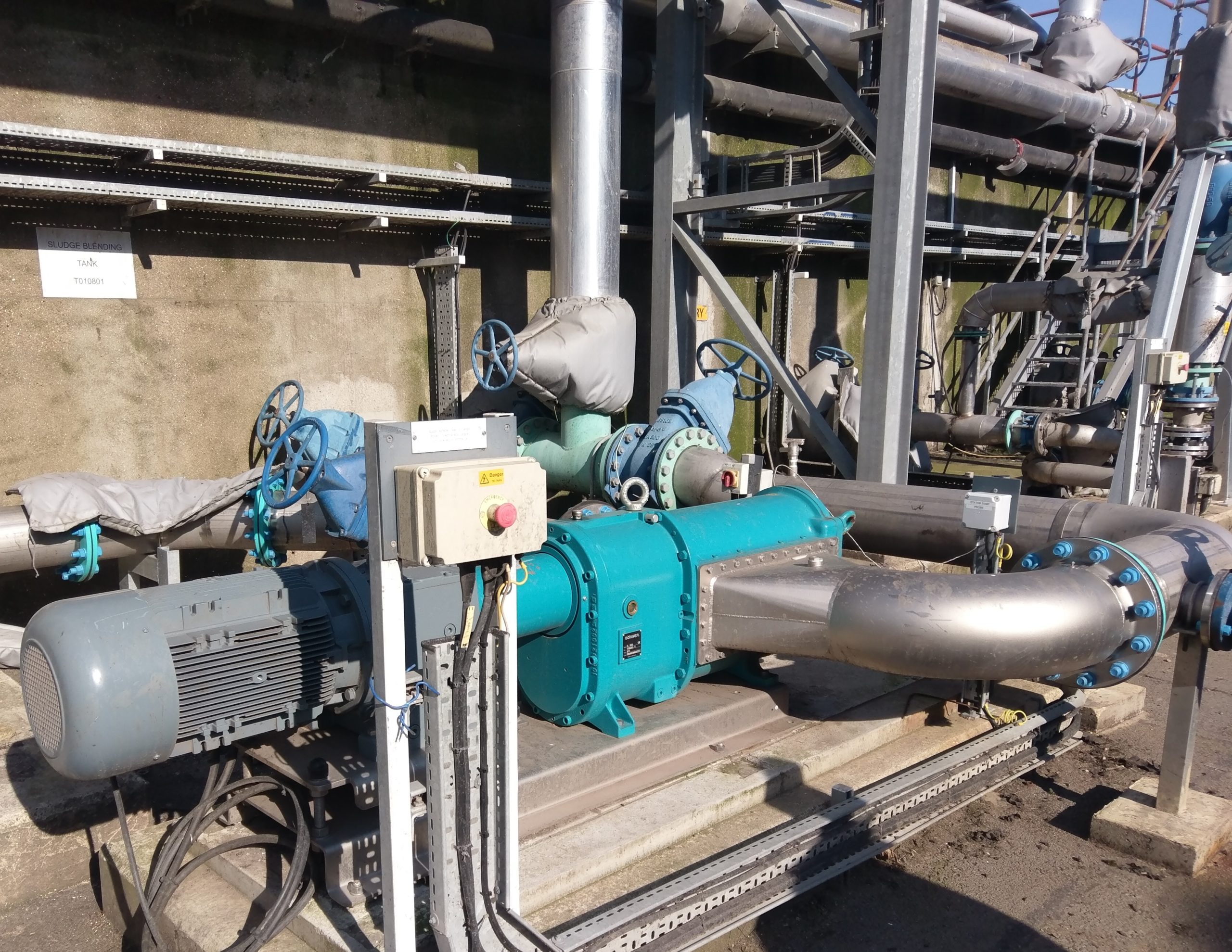 Member Press Release – Better Biogas Feed As Borger's Pump Solves Rectangular Tank Mixing Headache