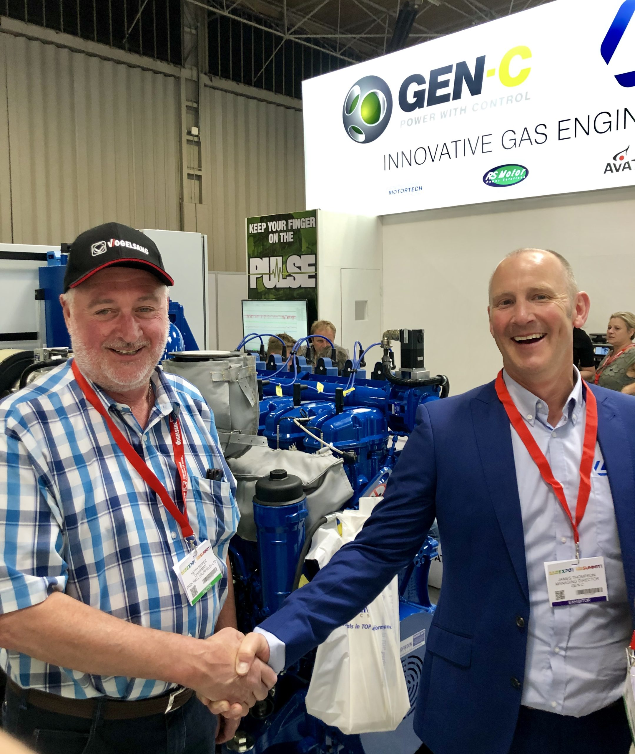 Members Press Release – UK AD & World Biogas Expo Is Twice As Nice For Gen-C
