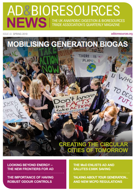AD & Bioresources News – Issue 43, Spring 2019