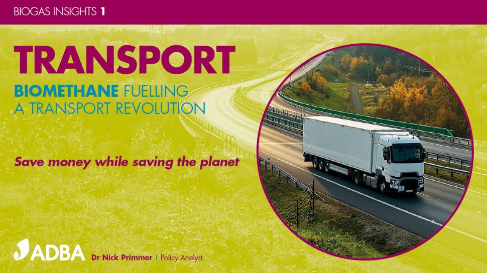 "Report Launch ""Transport: Biomethane Fuelling A Transport Revolution"""